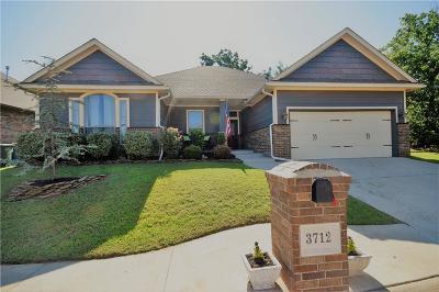 Edmond Single Family Home For Sale: 3712 Oakridge Circle