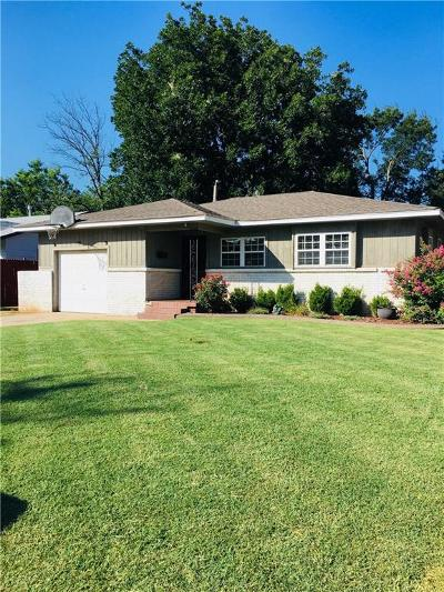 Midwest City Single Family Home For Sale: 1940 N Mitchell