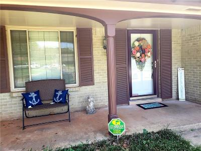 Del City Single Family Home For Sale: 3420 Simmons Drive