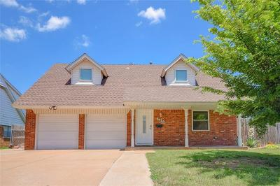 Midwest City Single Family Home For Sale: 3404 N Glenvalley Drive