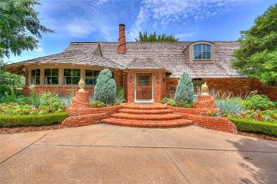 Oklahoma City Single Family Home For Sale: 6801 N Country Club Drive