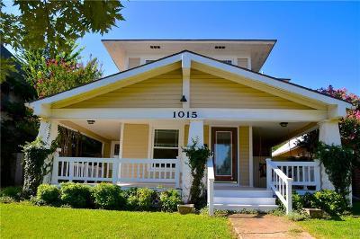 Guthrie Single Family Home For Sale: 1015 E Noble Avenue
