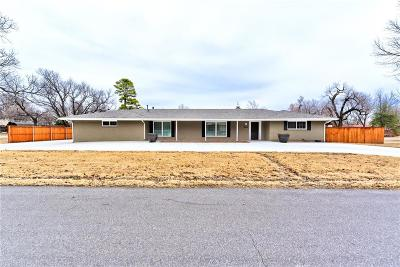 Single Family Home For Sale: 4500 Memory