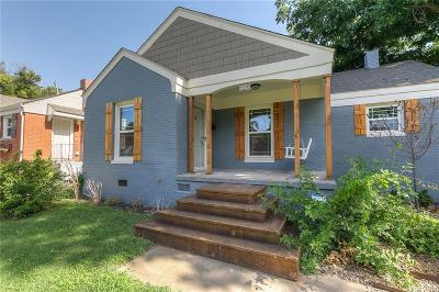 Oklahoma City OK Single Family Home For Sale: $197,500