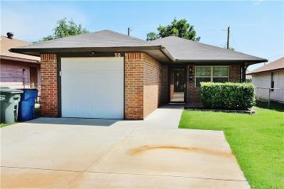 Edmond Single Family Home For Sale: 30 W Colcord Avenue