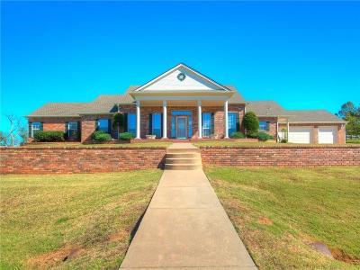 Mustang Single Family Home Pending: 10600 Crystal Creek Drive