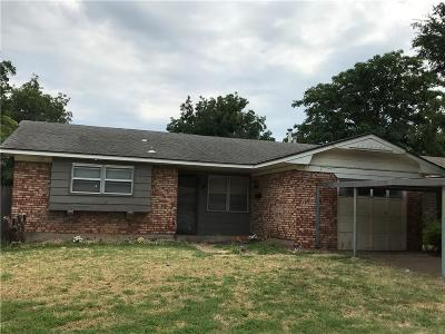 Del City Single Family Home For Sale: 4316 Prairie
