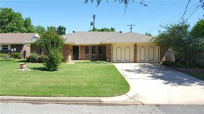 Oklahoma City OK Single Family Home For Sale: $160,000