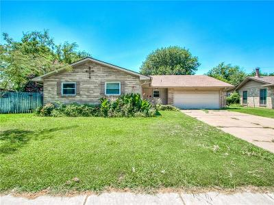 Edmond Single Family Home For Sale: 3021 Beverly Drive