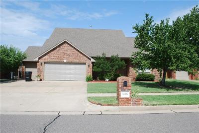 Moore OK Single Family Home For Sale: $194,500
