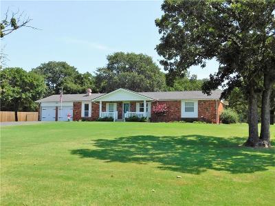 Edmond Single Family Home For Sale: 7020 N Blue Ridge