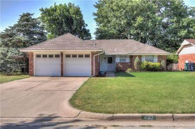 Oklahoma City OK Single Family Home For Sale: $142,000