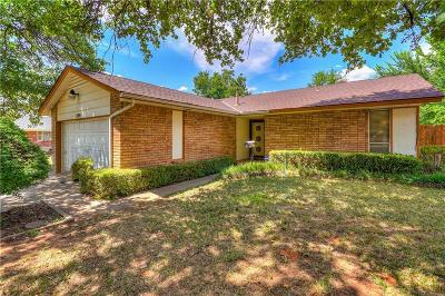 Del City Single Family Home For Sale: 3509 Chetwood Drive