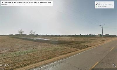 Residential Lots & Land For Sale: SW Corner Of SW 119th And Meridian