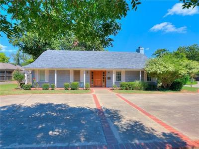 Nichols Hills Single Family Home For Sale: 1801 Drakestone Avenue
