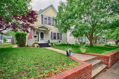 Guthrie Single Family Home For Sale: 707 E Warner