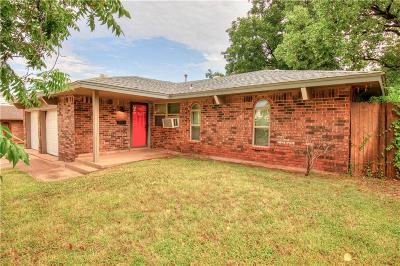 Del City Single Family Home For Sale: 3805 Larkwood