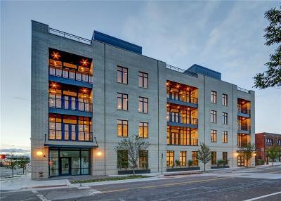 Oklahoma City Condo/Townhouse For Sale: 701 N Hudson Avenue #Ground F