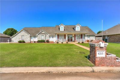 Del City Single Family Home For Sale: 4213 Lamar Drive