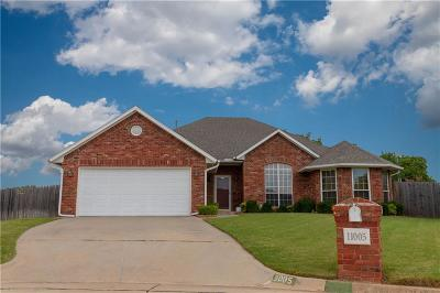 Midwest City Single Family Home For Sale: 11005 Larkin