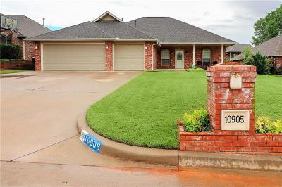 Midwest City Single Family Home For Sale: 10905 Windmill Farms Road
