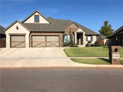 Mustang Single Family Home For Sale: 5709 Ledgestone
