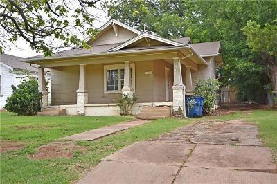 Guthrie Single Family Home For Sale: 906 E Vilas