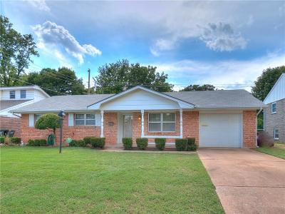 Del City Single Family Home For Sale: 405 Vickie Drive