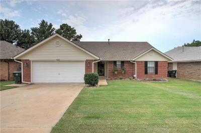 Midwest City Single Family Home For Sale: 9216 Apple Drive