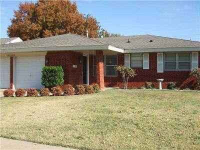 Oklahoma City OK Single Family Home For Sale: $115,000