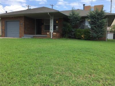 Oklahoma City OK Single Family Home For Sale: $118,000