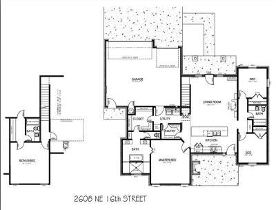 Single Family Home For Sale: 2608 NE 16th Street