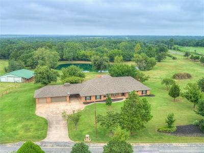 Edmond Single Family Home For Sale: 2301 Deer Creek Drive