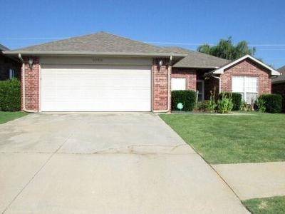 Del City Single Family Home For Sale: 5016 Republic Drive