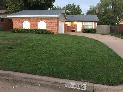 Edmond Single Family Home For Sale: 14012 N Everest Avenue