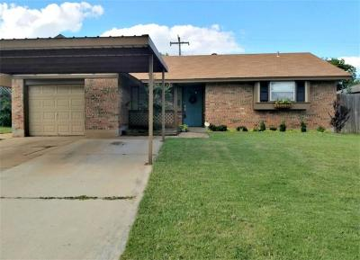 Moore OK Single Family Home For Sale: $105,000