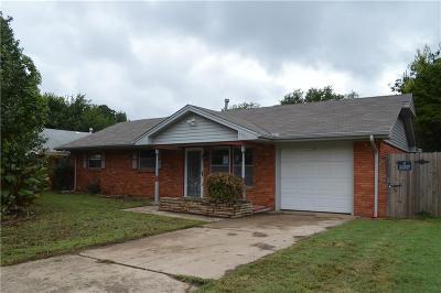 Midwest City Single Family Home Pending: 1001 Moraine Avenue