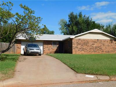Guthrie Single Family Home For Sale: 1006 Shady Creek Circle