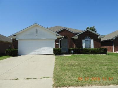 Moore OK Single Family Home For Sale: $124,000