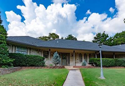 Edmond Single Family Home For Sale: 2301 Tall Oaks Trail