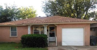 Oklahoma City OK Single Family Home For Sale: $73,500