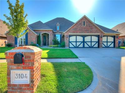 Oklahoma City Single Family Home For Sale: 3104 Chesterfield Place