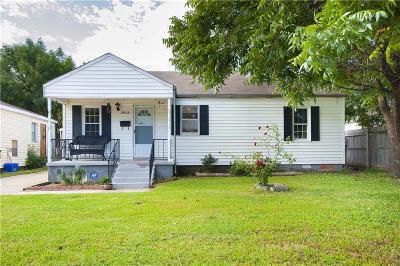 Oklahoma City OK Single Family Home For Sale: $79,500