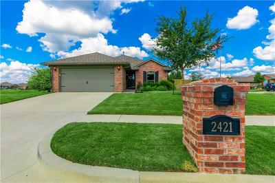 Edmond Single Family Home For Sale: 2421 NW 196th Terrace