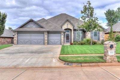 Mustang Single Family Home For Sale: 309 E Atlanta Terrace