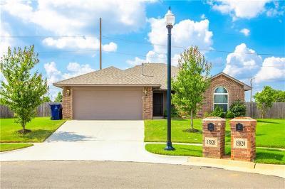 Edmond Single Family Home For Sale: 15821 Crane Way