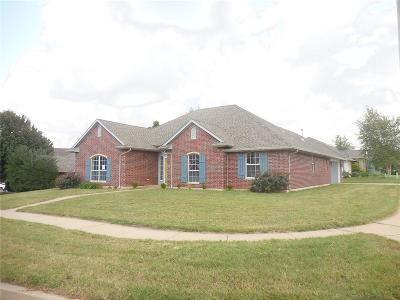 Edmond Single Family Home For Sale: 1256 NW 183rd Street