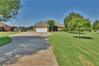 Edmond Single Family Home For Sale: 10977 Gracie Drive