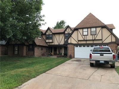 Edmond Single Family Home For Sale: 14117 Apache Drive