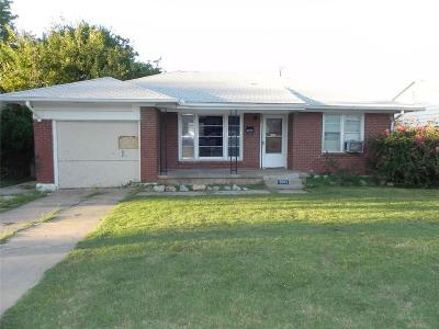Oklahoma City OK Single Family Home For Sale: $49,900